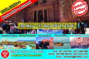 HOLYLAND TOUR INDONESIA 30 November - 11 Desember 2017 (12D) Egypt - Israel - Jordan + Petra + Redsea 5* Resort